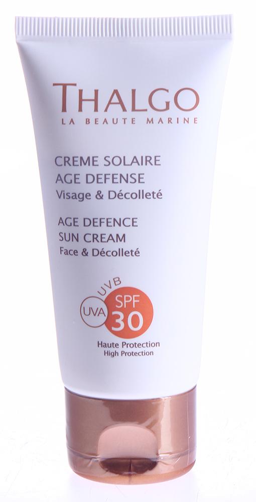 THALGO �������������� ���� ��� ���� SPF30 / Age Defence Sun Cream 50�� ~