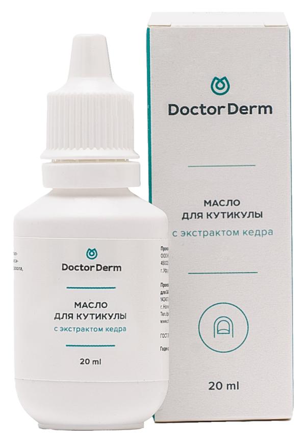 DOCTOR DERM Масло с экстрактом кедра для кутикулы 20 мл