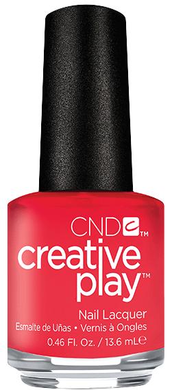 CND 410 лак для ногтей / Coral Me Later Creative Play 13,6 мл