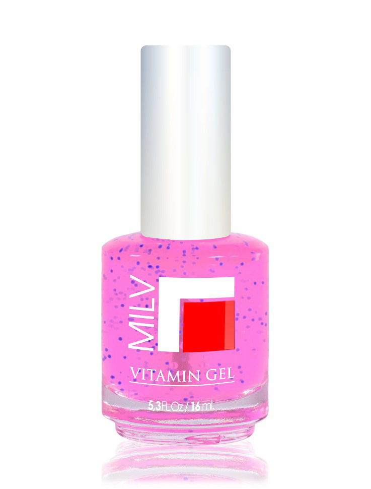 MILV Гель для роста ногтей  Барби  / Vitamin Gel 16мл