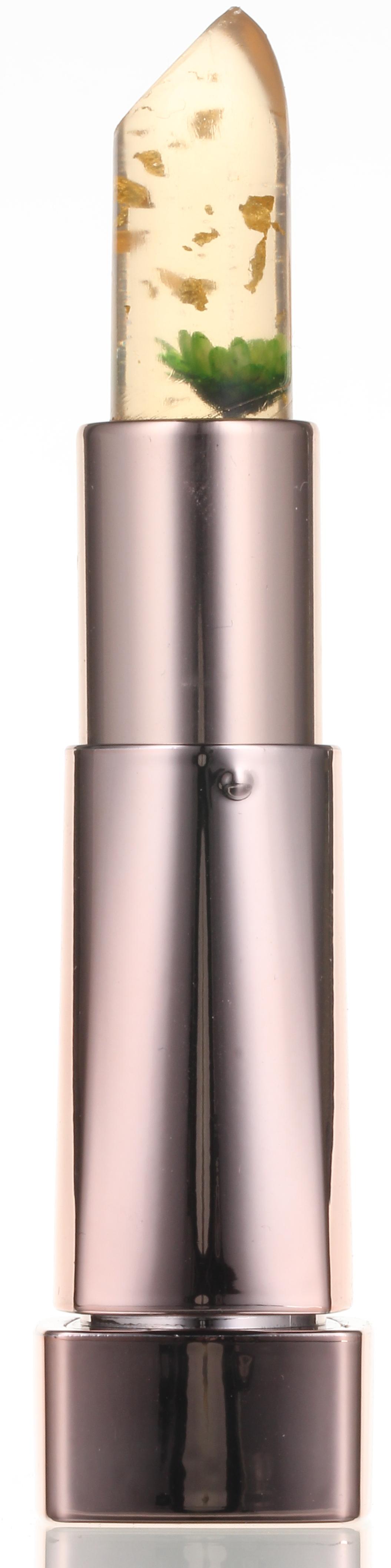 KIMS Помада-бальзам для губ / Flower Lip Glow Crystal Green 3,3 г - Бальзамы для губ