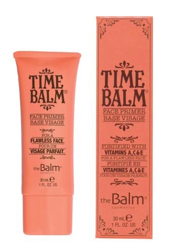 THE BALM Основа для макияжа / TimeBalmТональные основы<br>Легкая разглаживающая основа для лица. Способ применения. Используется как:   Самостоятельное средство (без макияжа) - разглаживает кожу и защищает от внешних воздействий.   Как база (праймер) для макияжа   выравнивает поверхность кожи, способствует легкому нанесению и распределению тональных продуктов, не утяжеляет макияж и обеспечивает ему стойкость и свежесть. Активные ингредиенты: в формуле: Витамины A,C&amp;amp;E - помогают сохранять упругость и эластичность, тонизируют кожу. Аллантоин - смягчает и успокаивает кожу, делает менее заметными (стягивает) широкие поры. Биофлавоноиды   активный антиоксидант.<br>