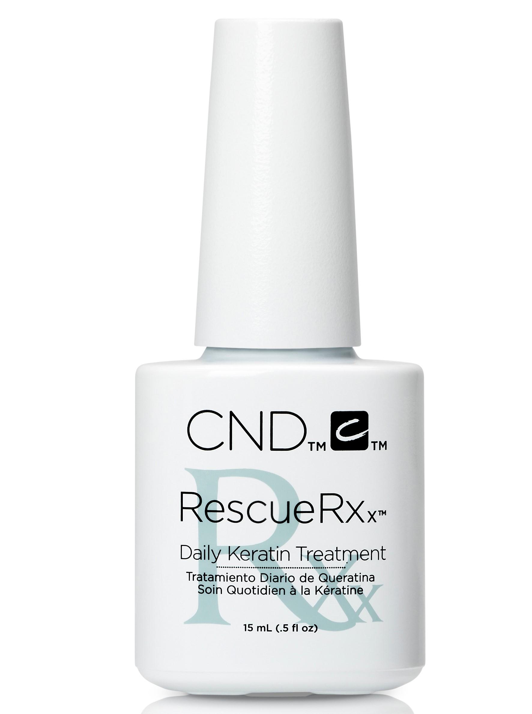 CND Средство для укрепления ногтей (кератин) / RescueRXx™ 15 мл -  Лечебные средства