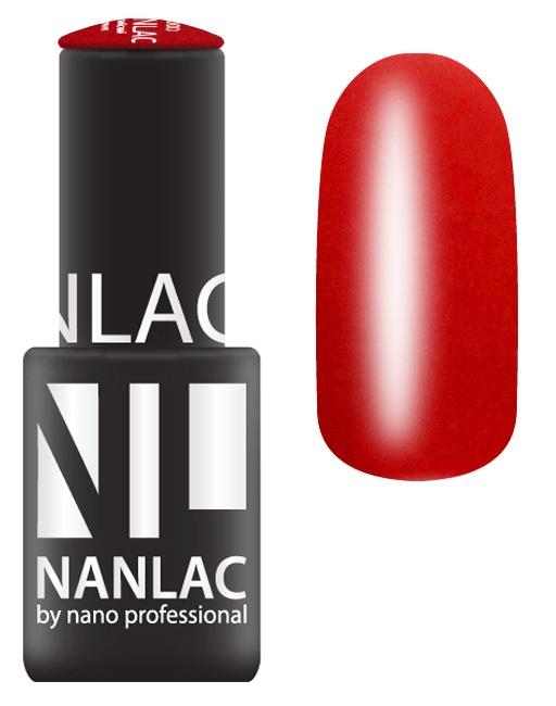 NANO PROFESSIONAL 1004 гель-лак для ногтей, чилийский перчик / NANLAC 6 мл