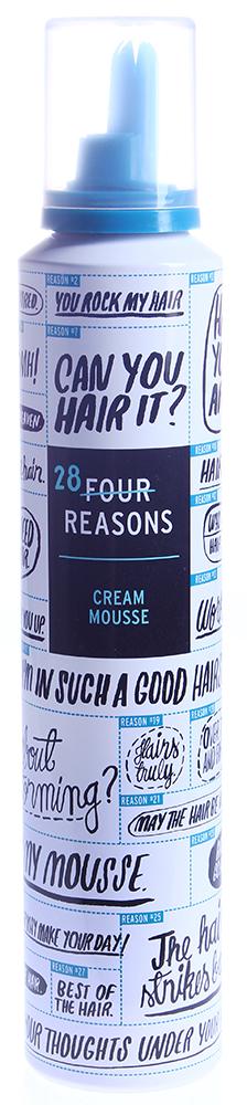 KC PROFESSIONAL Пенка кондиционирующая и разглаживающая / Cream mousse FOUR REASONS 200млПенки<br>Кондиционирующая и разглаживающая пенка для сухих, пористых и вьющихся волос. Волосы становятся гладкими и легко укладываются. Легкая фиксация. свежий аромат алоэ. Способ применения: нанесите пенку на прикорневую часть волос, распределите по длине. Придайте желаемую форму используя фен.<br>