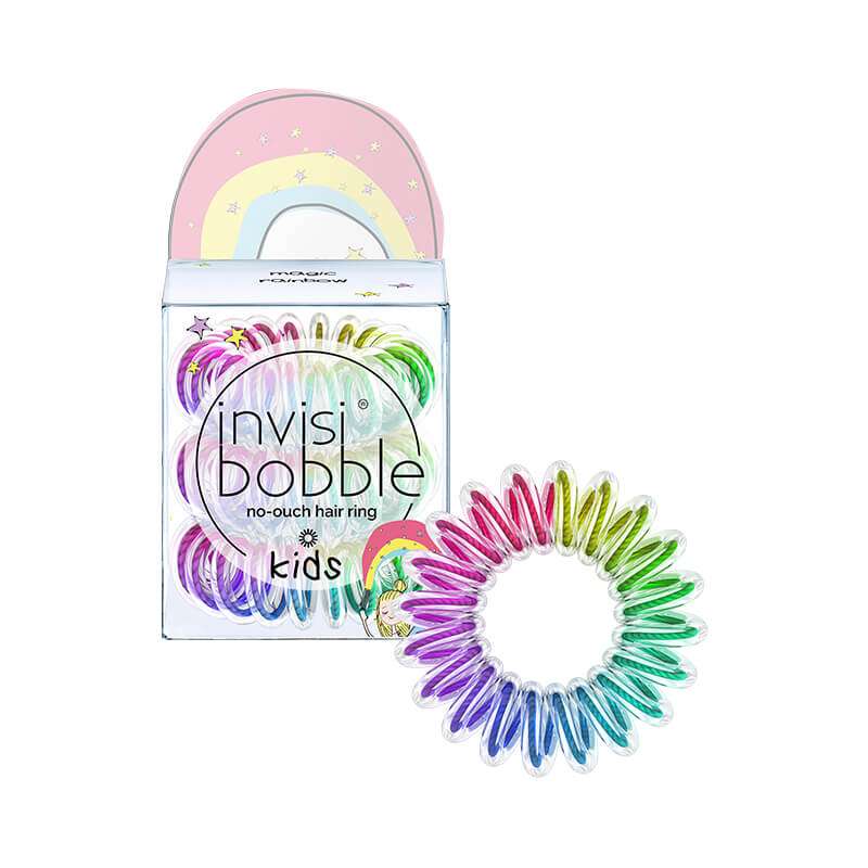 INVISIBOBBLE Резинка-браслет для волос / KIDS magic rainbow -  Резинки