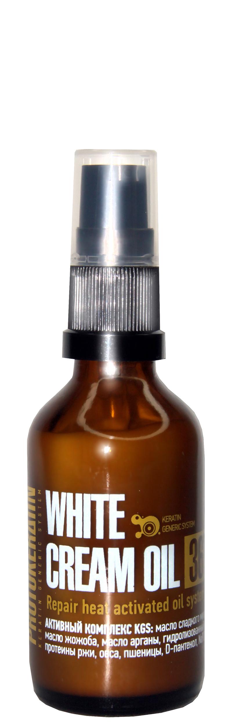 PROTOKERATIN Крем-масло восстанавливающее / REPAIR WHITE CREAM OIL