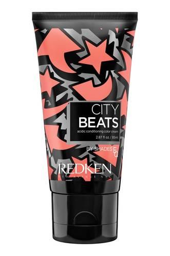REDKEN Крем с тонирующим эффектом для волос Коралловый челси (коралловый) / CITY BEATS 85 мл