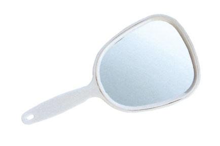 SIBEL Зеркало с ручкой 13*29 см