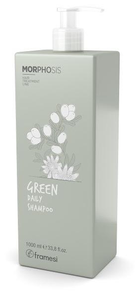 Купить FRAMESI Био-шампунь для ежедневного применения / GREEN DAILY SHAMPOO 1000 мл