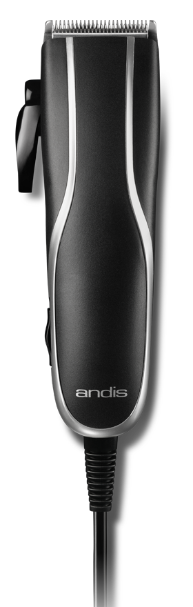 ANDIS Машинка для стрижки волос PM-10, 0.5 - 2.4 мм, сетевая, 4 насадки, 7 W фото