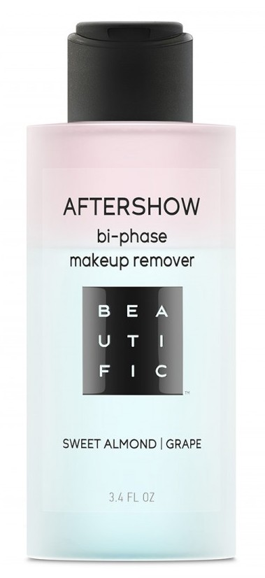 BEAUTIFIC Средство двухфазное для снятия водостойкого макияжа с глаз и губ / AFTERSHOW 100 мл