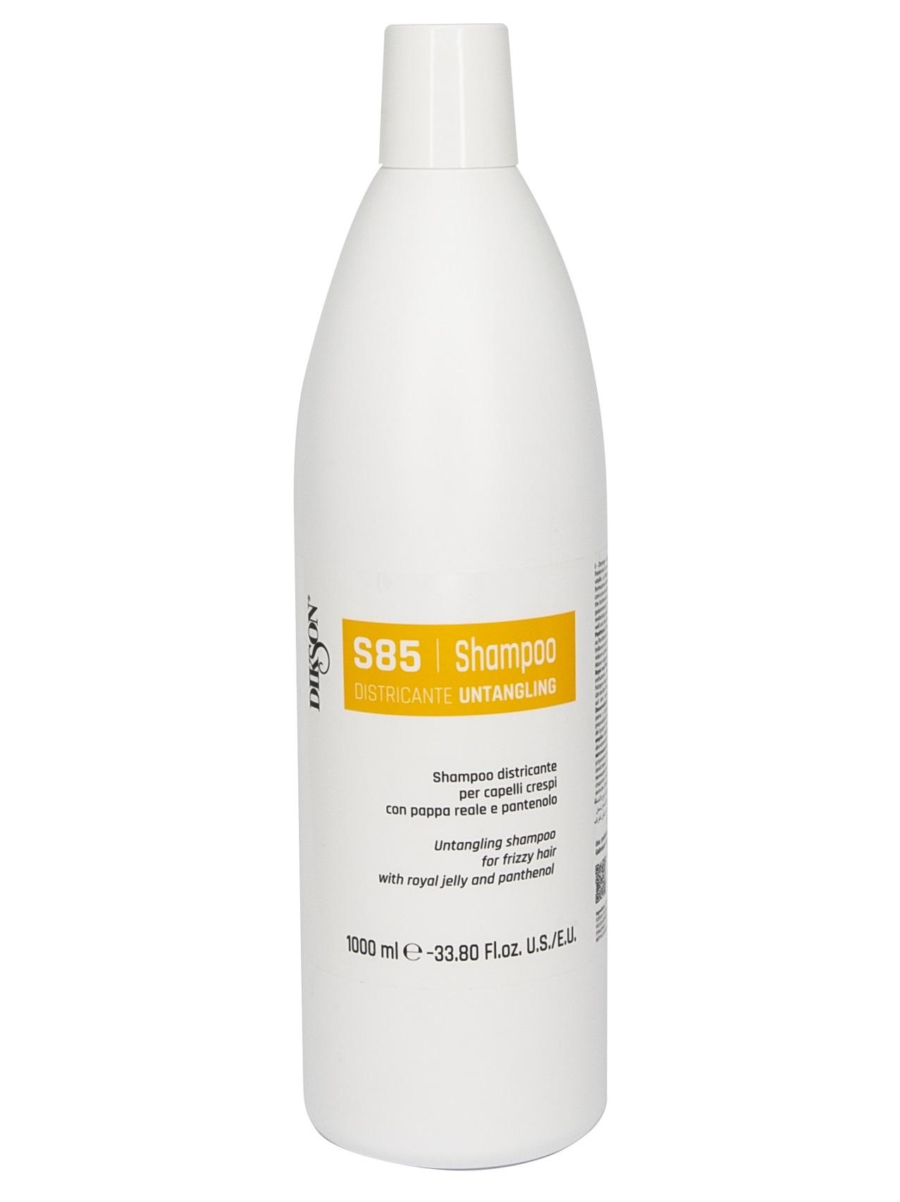 Купить DIKSON Шампунь для облегчения расчёсывания с маточным молочком и пантенолом / SHAMPOO DISTRICANTE S85 1000 мл
