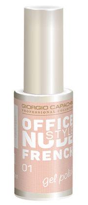 Купить GIORGIO CAPACHINI 01 гель-лак для ногтей / French OFFICE NUDE STYLE 12 мл, Белые