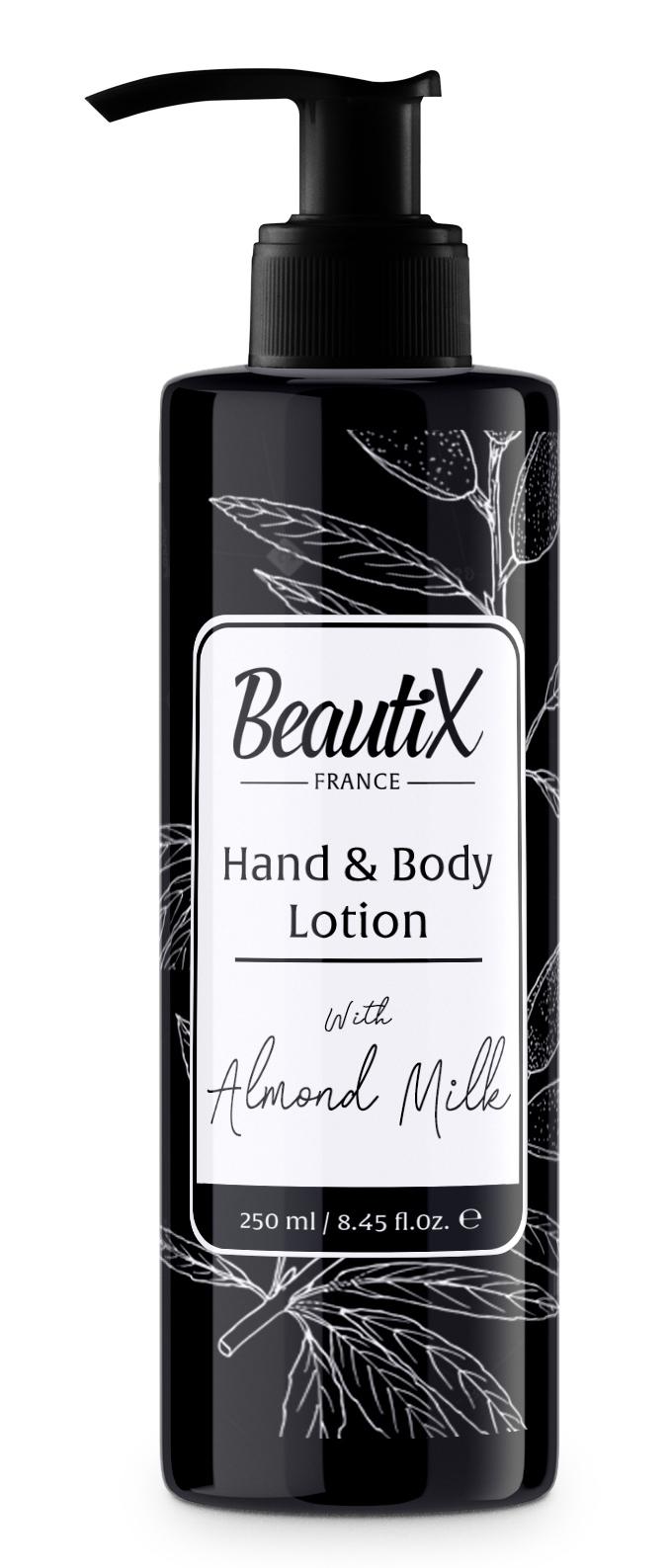 BEAUTIX Лосьон для рук и тела, миндальное молоко 250 мл