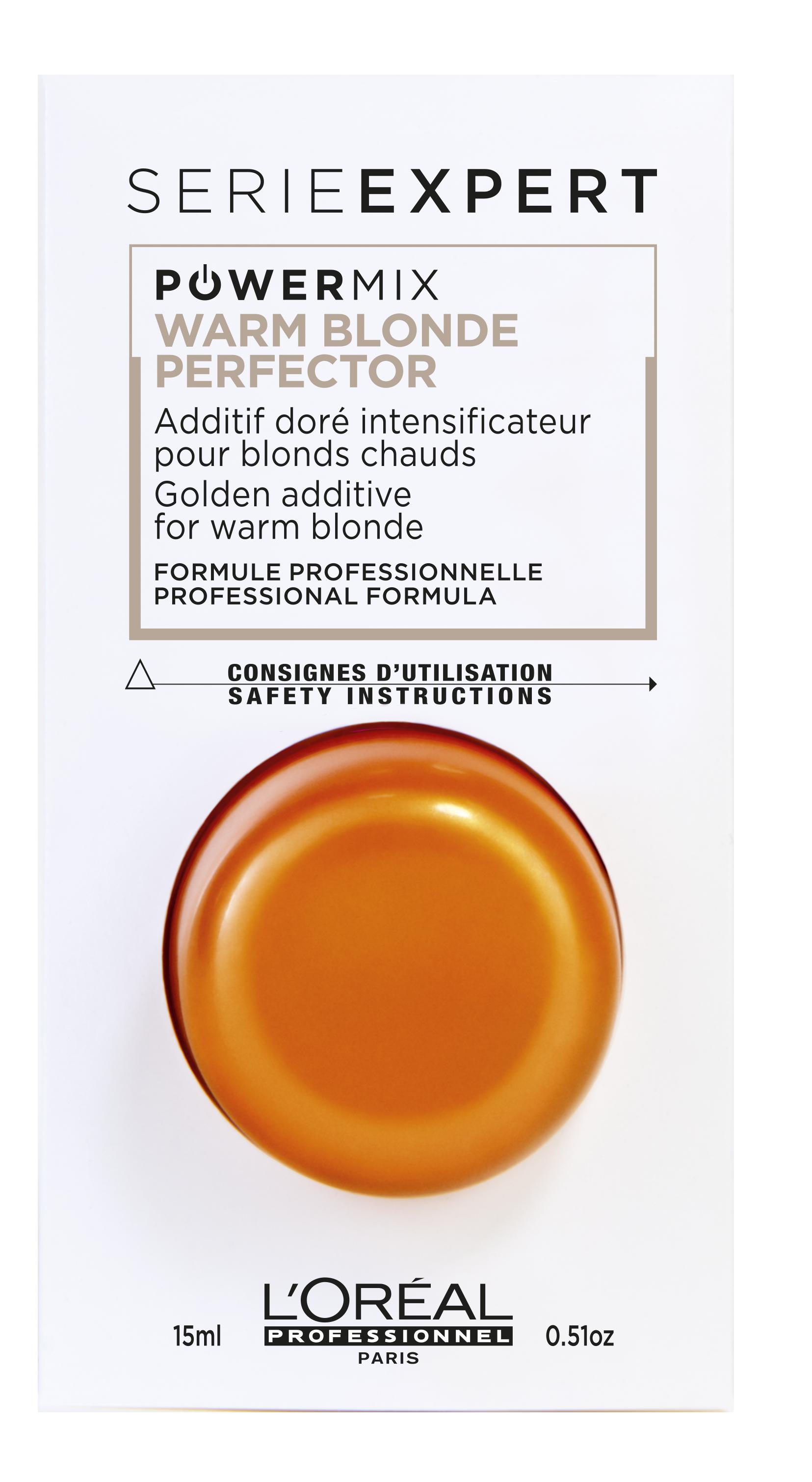LOREAL PROFESSIONNEL Флюид-добавка c золотистым пигментом / POWERMIX ШОТ SAND 15 мл