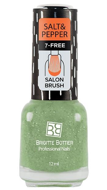 BRIGITTE BOTTIER 510 лак для ногтей, соль мятная / Salt & Pepper 12 мл