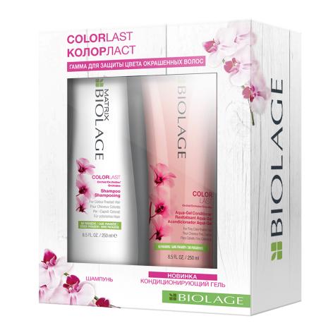 MATRIX Набор для окрашенных волос (шампунь 250 мл, кондиционер 250 мл) / BIOLAGE ColorLast
