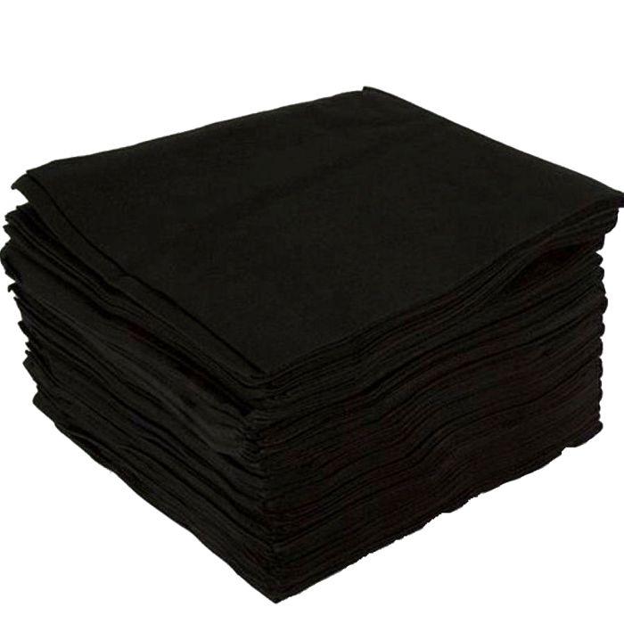 ЧИСТОВЬЕ Полотенце спанлейс 35*70 см Черный бархат 50 шт/уп (штучно)