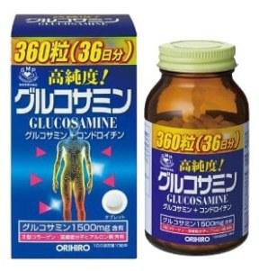 ORIHIRO Глюкозамин и хондроитин с витаминами, таблетки 360 шт