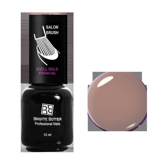 BRIGITTE BOTTIER 962 гель-лак для ногтей & Кремово-розовый&  / Shell Nails 12мл -  Гель-лаки