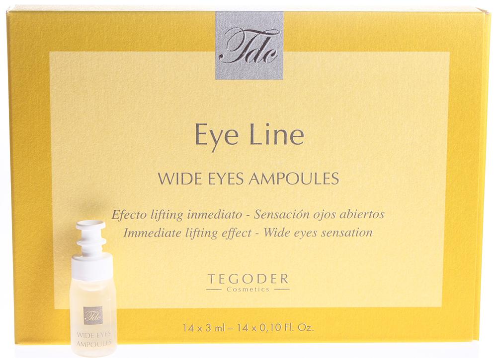 TEGOR Гель с лифтинг эффектом для ухода за кожей вокруг глаз / EYE CARE 14*3мл
