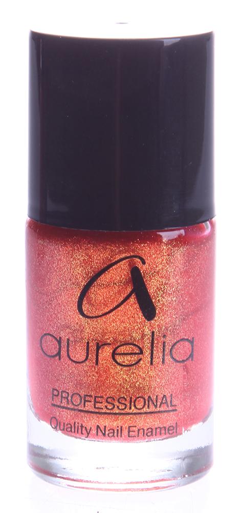AURELIA 908 лак для ногтей / PROFESSIONAL 13млЛаки<br>Aurelia Professional &amp;mdash; лаки профессионального качества и эксклюзивных цветов на основе инновационных пигментов последнего поколения, часто обновляемые в соответствии с модными тенденциями сезона. Способ применения: Нанесите лак для ногтей, равномерно распределив по всей ногтевой пластине. Лак можно наносить на чистые ногти, но для более стойкого эффекта рекомендуется использовать базовое и верхнее покрытия.<br><br>Цвет: Красные<br>Виды лака: С блестками