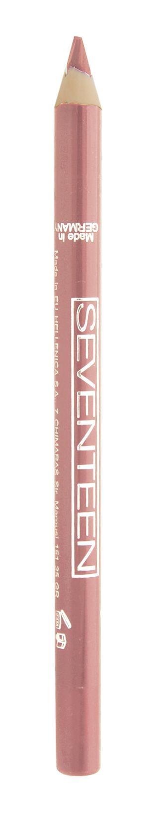 SEVENTEEN Карандаш водостойкий с витамином Е для губ, 31 холодный розовый / Super Smooth W/P Lip Liner 1,2 г