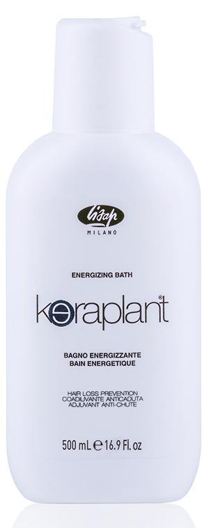 LISAP MILANO Шампунь стимулирующий против выпадения волос / KERAPLANT 500млШампуни<br>Создан на основе трихокомплекса. Содержит экстракты корней китайского женьшеня и репейника, улучшающих микроциркуляцию крови, приток питательных веществ и кислорода к волосяным луковицам. Снижает выпадение волос и стимулирует рост новых. Ментол дополняет высокоэффективный состав охлаждающим и тонизирующим эффектом и способствуют быстрому оздоровлению волос. Активные ингредиенты: трихокомплекс, экстракты корней китайского женьшеня и репейника, ментол. Способ применения: нанести небольшое количество шампуня на влажные волосы, мягко промассировать, а затем смыть большим количеством воды. Повторить нанесение и оставить шампунь на волосах на 2 минуты перед окончательным ополаскиванием. Рекомендуется использовать в комплексе с Keraplant Energizing Lotion Complex.<br><br>Вид средства для волос: Стимулирующий<br>Назначение: Выпадение