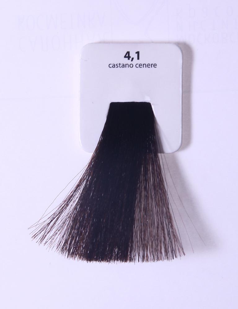 KAARAL 4.1 краска для волос / Sense COLOURS 100млКраски<br>4.1 пепельный каштан Перманентные красители. Классический перманентный краситель бизнес класса. Обладает высокой покрывающей способностью. Содержит алоэ вера, оказывающее мощное увлажняющее действие, кокосовое масло для дополнительной защиты волос и кожи головы от агрессивного воздействия химических агентов красителя и провитамин В5 для поддержания внутренней структуры волоса. При соблюдении правильной технологии окрашивания гарантировано 100% окрашивание седых волос. Палитра включает 93 классических оттенка. Способ применения: Приготовление: смешивается с окислителем OXI Plus 6, 10, 20, 30 или 40 Vol в пропорции 1:1 (60 г красителя + 60 г окислителя). Суперосветляющие оттенки смешиваются с окислителями OXI Plus 40 Vol в пропорции 1:2. Для тонирования волос краситель используется с окислителем OXI Plus 6Vol в различных пропорциях в зависимости от желаемого результата. Нанесение: провести тест на чувствительность. Для предотвращения окрашивания кожи при работе с темными оттенками перед нанесением красителя обработать краевую линию роста волос защитным кремом Вaco. ПЕРВИЧНОЕ ОКРАШИВАНИЕ Нанести краситель сначала по длине волос и на кончики, отступив 1-2 см от прикорневой части волос, затем нанести состав на прикорневую часть. ВТОРИЧНОЕ ОКРАШИВАНИЕ Нанести состав сначала на прикорневую часть волос. Затем для обновления цвета ранее окрашенных волос нанести безаммиачный краситель Easy Soft. Время выдержки: 35 минут. Корректоры Sense. Используются для коррекции цвета, усиления яркости оттенков, создания новых цветовых нюансов, а также для нейтрализации нежелательных оттенков по законам хроматического круга. Содержат аммиак и могут использоваться самостоятельно. Оттенки: T-AG - серебристо-серый, T-M - фиолетовый, T-B - синий, T-RO - красный, T-D - золотистый, 0.00 - нейтральный. Способ применения: для усиления или коррекции цвета волос от 2 до 6 уровней цвета корректоры добавляются в краситель по Правилу пятнадцати