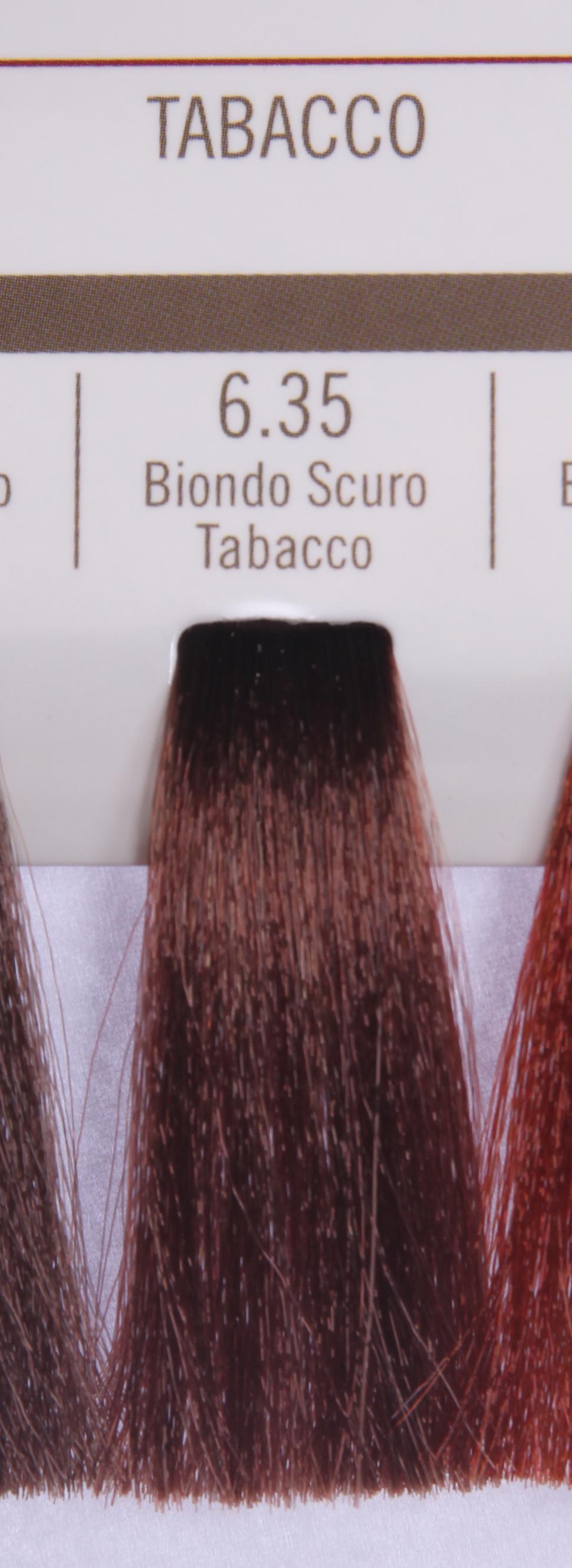 BAREX 6.35 краска для волос / PERMESSE 100млКраски<br>Оттенок: Темный блондин табачный. Профессиональная крем-краска Permesse отличается низким содержанием аммиака - от 1 до 1,5%. Обеспечивает блестящий и натуральный косметический цвет, 100% покрытие седых волос, идеальное осветление, стойкость и насыщенность цвета до следующего окрашивания. Комплекс сертифицированных органических пептидов M4, входящих в состав, действует с момента нанесения, увлажняя волосы, придавая им прочность и защиту. Пептиды избирательно оседают в самых поврежденных участках волоса, восстанавливая и защищая их. Масло карите оказывает смягчающее и успокаивающее действие. Комплекс пептидов и масло карите стимулируют проникновение пигментов вглубь структуры волоса, придавая им здоровый вид, блеск и долговечность косметическому цвету. Активные ингредиенты:&amp;nbsp;Сертифицированные органические пептиды М4 - пептиды овса, бразильского ореха, сои и пшеницы, объединенные в полифункциональный комплекс, придающий прочность окрашенным волосам, увлажняющий и защищающий их. Сертифицированное органическое масло карите (масло ши) - богато жирными кислотами, экстрагируется из ореха африканского дерева карите. Оказывает смягчающий и целебный эффект на кожу и волосы, широко применяется в косметической индустрии. Масло карите защищает волосы от неблагоприятного воздействия внешней среды, интенсивно увлажняет кожу и волосы, т.к. обладает высокой степенью абсорбции, не забивает поры. Способ применения:&amp;nbsp;Крем-краска готовится в смеси с Молочком-оксигентом Permesse 10/20/30/40 объемов в соотношении 1:1 (например, 50 мл крем-краски + 50 мл молочка-оксигента). Молочко-оксигент работает в сочетании с крем-краской и гарантирует идеальное проявление краски. Тюбик крем-краски Permesse содержит 100 мл продукта, количество, достаточное для 2 полных нанесений. Всегда надевайте подходящие специальные перчатки перед подготовкой и нанесением краски. Подготавливайте смесь крем-краски и молочка-оксигента Permesse в нем