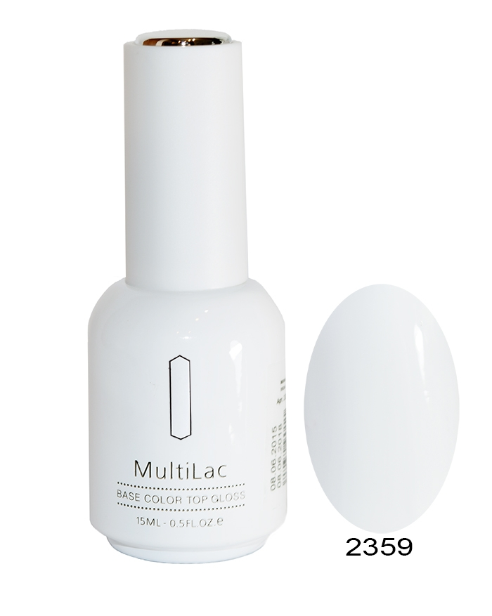 RuNail 2359 гель-лак для ногтей Ландыш / MultiLac May-lily 15 мл