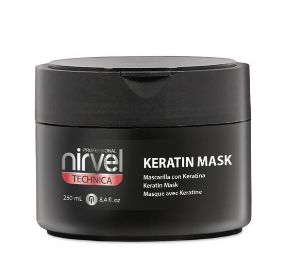NIRVEL PROFESSIONAL Маска кератиновая для мощного восстановления и увлажнения волос / KERATIN MASK №6 250 мл