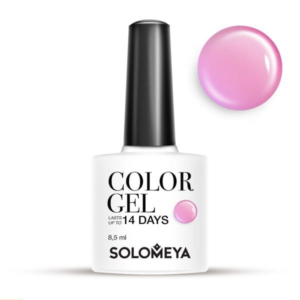 SOLOMEYA Гель-лак для ногтей SCG060 Сахарная вата / Color Gel Candy Floss 8,5мл