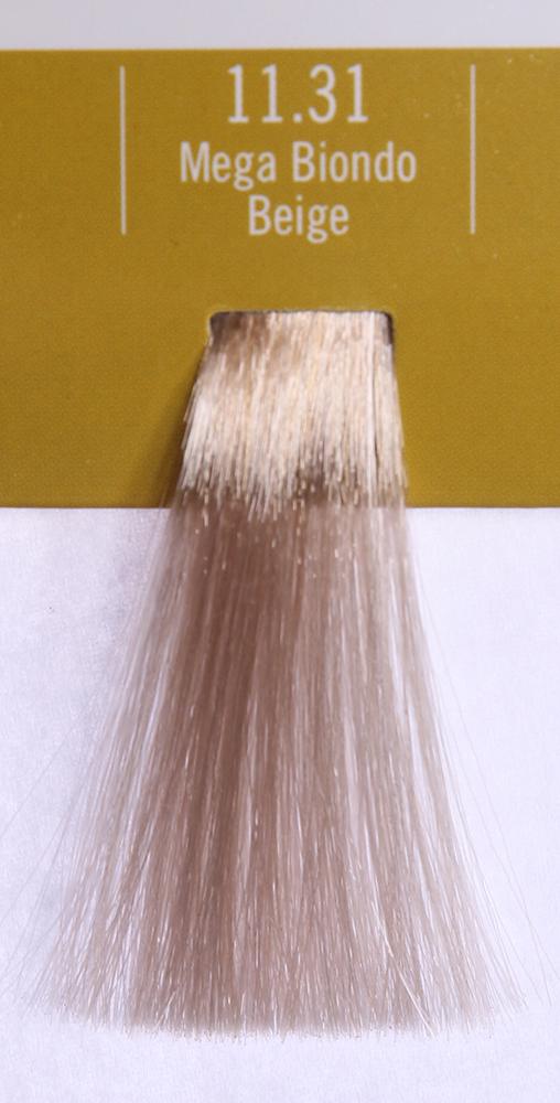 BAREX 11.31 краска для волос / PERMESSE 100млКраски<br>Оттенок: Ультрасветлый блондин бежевый. Профессиональная крем-краска Permesse отличается низким содержанием аммиака - от 1 до 1,5%. Обеспечивает блестящий и натуральный косметический цвет, 100% покрытие седых волос, идеальное осветление, стойкость и насыщенность цвета до следующего окрашивания. Комплекс сертифицированных органических пептидов M4, входящих в состав, действует с момента нанесения, увлажняя волосы, придавая им прочность и защиту. Пептиды избирательно оседают в самых поврежденных участках волоса, восстанавливая и защищая их. Масло карите оказывает смягчающее и успокаивающее действие. Комплекс пептидов и масло карите стимулируют проникновение пигментов вглубь структуры волоса, придавая им здоровый вид, блеск и долговечность косметическому цвету. Активные ингредиенты:&amp;nbsp;Сертифицированные органические пептиды М4 - пептиды овса, бразильского ореха, сои и пшеницы, объединенные в полифункциональный комплекс, придающий прочность окрашенным волосам, увлажняющий и защищающий их. Сертифицированное органическое масло карите (масло ши) - богато жирными кислотами, экстрагируется из ореха африканского дерева карите. Оказывает смягчающий и целебный эффект на кожу и волосы, широко применяется в косметической индустрии. Масло карите защищает волосы от неблагоприятного воздействия внешней среды, интенсивно увлажняет кожу и волосы, т.к. обладает высокой степенью абсорбции, не забивает поры. Способ применения:&amp;nbsp;Крем-краска готовится в смеси с Молочком-оксигентом Permesse 10/20/30/40 объемов в соотношении 1:1 (например, 50 мл крем-краски + 50 мл молочка-оксигента). Молочко-оксигент работает в сочетании с крем-краской и гарантирует идеальное проявление краски. Тюбик крем-краски Permesse содержит 100 мл продукта, количество, достаточное для 2 полных нанесений. Всегда надевайте подходящие специальные перчатки перед подготовкой и нанесением краски. Подготавливайте смесь крем-краски и молочка-оксигента Permess