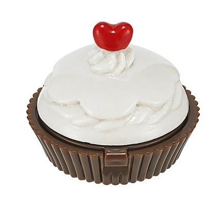 HOLIKA HOLIKA Бальзам для губ 01 (вишневое пирожное) Дессерт тайм / Dessert Time Lip Balm Red Cupсake 7гр