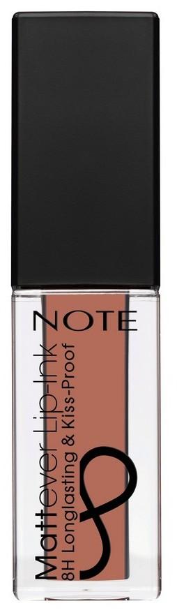 Купить NOTE Cosmetics Помада-тинт жидкая матовая для губ 01 / MATTEVER LIP-INK 6 мл