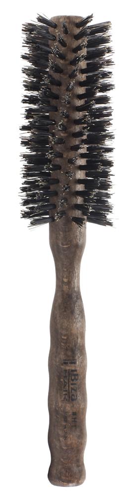 IBIZA HAIR Щетка круглая, закрученная для укладки волос, диаметр 45 мм (красное дерево) - Брашинги