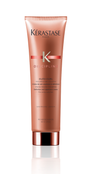 KERASTASE Уход несмываемый для вьющихся волос / DISCIPLINE CURL IDEAL 150млОсобые средства<br>Крем, очерчивающий завиток и придающий ему упругость.Чёткость завитка   Защита против воздействия влажности и образования завитков   Естественная укладка. Активные ингредиенты: про-Кератин+Эластин: разглаживает поверхность волос и позволяет добиться однородности волос. Придает волосам эластичность. Способ применения: нанести на чистые, отжатые полотенцем волосы. Не смывать. Приступить к укладке. Избегайте попадания в глаза или на участки с поврежденной кожей. При попадании в глаза немедленно промыть водой.<br><br>Вид средства для волос: Несмываемый<br>Типы волос: Кудрявые