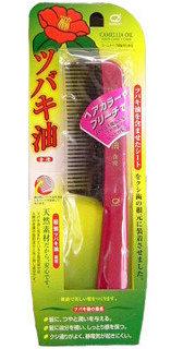NANIWA Расческа с маслом японской камелии для ухода и восстановления поврежденных волос