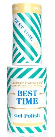 GIORGIO CAPACHINI 23 гель-лак трехфазный для ногтей / BEST TIME 8 мл.