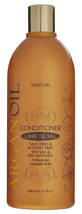 Купить KATIVA Кондиционер увлажняющий с маслом арганы для волос / ARGANA 500 мл