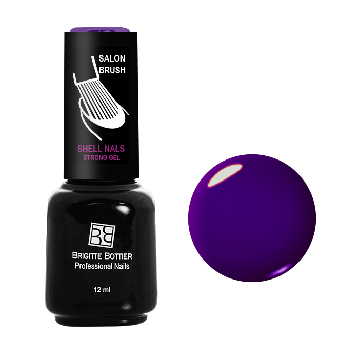 BRIGITTE BOTTIER 944 гель-лак для ногтей, цветочная фантазия / Shell Nails 12 мл