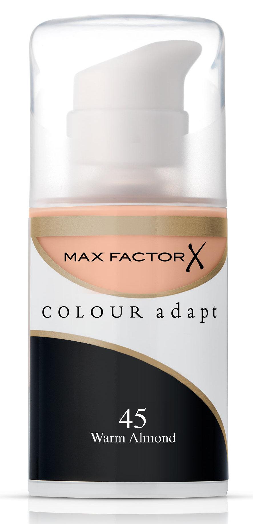 MAX FACTOR Крем тональный 45 / Colour Adapt - Тональные основы