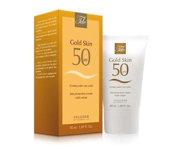 TEGOR Крем солнцезащитный особого действия SPF 50 / Gold Skin SUN мл