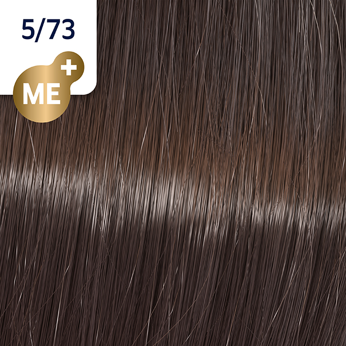 Купить WELLA 5/73 краска для волос, кедр / Koleston Perfect ME+ 60 мл, Бежевый и коричневый