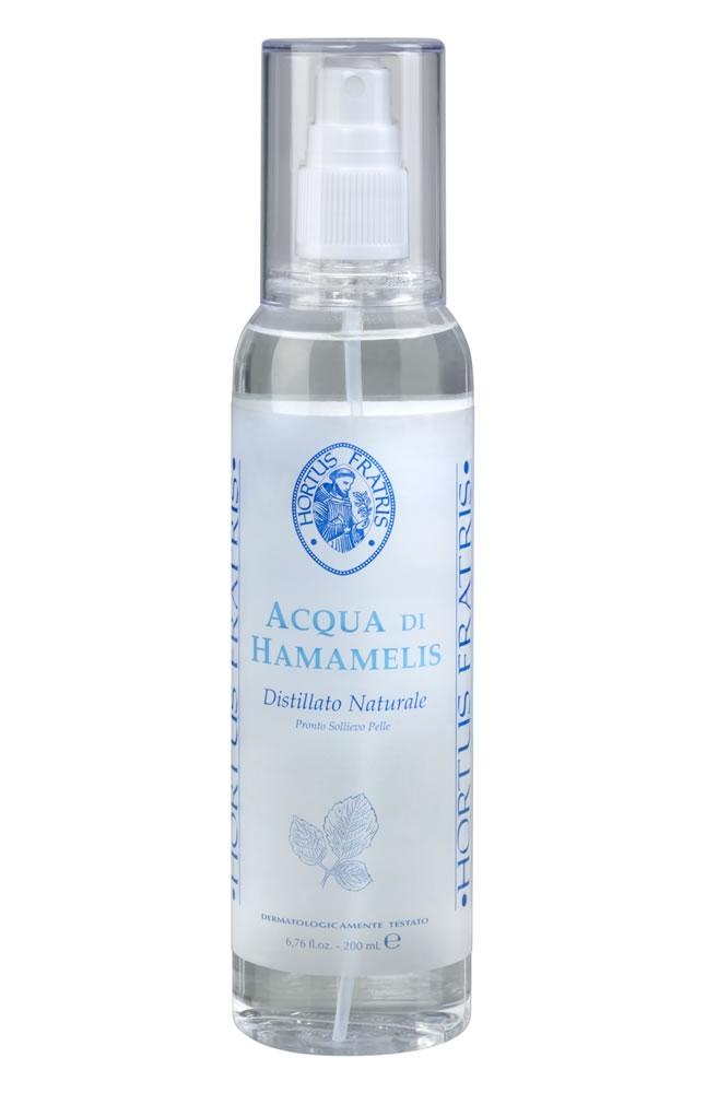HORTUS FRATRIS Вода-спрей с экстрактом гамамелиса / ACQUA di HAMAMELIS spray 200мл
