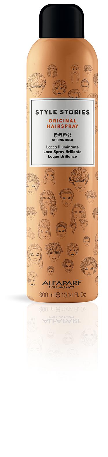 ALFAPARF MILANO Лак для волос сильной фиксации / Original Hairspray 300 мл лак
