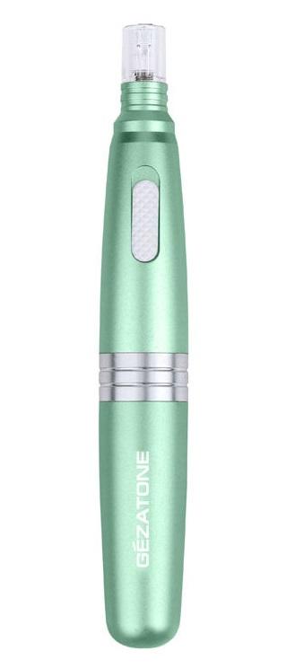 GEZATONE Прибор для ухода и массажа лица, зеленый Nanopen AMG517