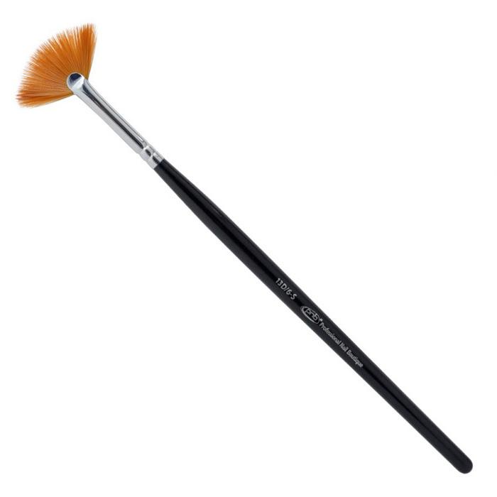 Купить PNB 13D кисть для дизайна веерная нейлон / Nail Art Brush Fan 6-s PNB nylon, 12 мм